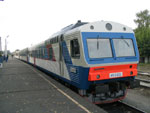 Дизель-поезд на ст. Моховые Горы