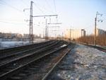 Северная горловина ст. Горький-Московский