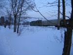 Грузовой поезд на ст. Киселиха