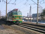 ВЛ80с-1247 с грузовым поездом