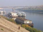 Пристань возле Нижегородской ярмарки